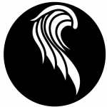 logo black circle